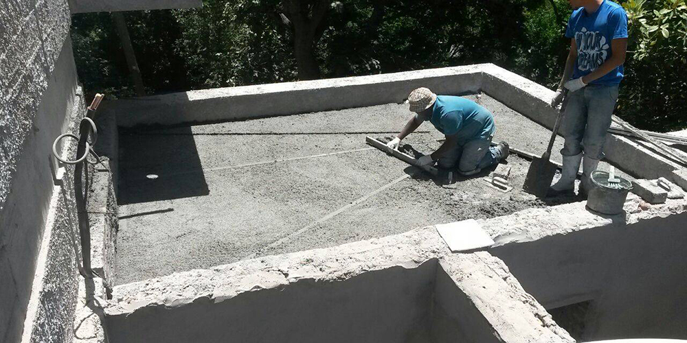 Greenr Ultra Lightweight Thermal Concrete Solution